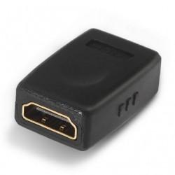 AISENS ADAPTADOR A121-0123 / HDMI FÊMEA - HDMI FÊMEA