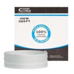 CABO FTP RJ45 CARRETEL NANOFIO 10.20.0902 CAT.6 / 100M / CINZA