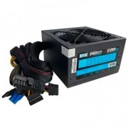 FORNECIMENTO DE ENERGIA 3GO PS601SX / 600W / VENTILADOR DE 12 CENTÍMETROS