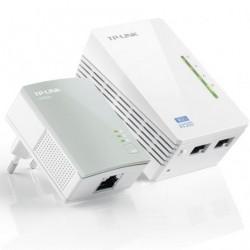 TPLINK POWERLINE ADAPTADOR WPA4220KIT 500MBS / ALCANCE 300MT / EMBALAR DOIS