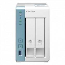 NAS QNAP TS-231P3-2G / 2 BAÍAS 3.5'- FORMATO 2.5 '/ 2 GB DDR3 / TORRE