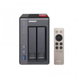 QNAP TS-251 NAS / 2 BAÍAS 3.5'- 2,5 '/ 2 GB DDR3L FORMATO / TORRE