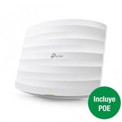 PONTO DE ACESSO WIRELESS TP-LINK EAP225 1350MBS POE / 2,4 / 5 GHZ / ANTENAS 5DBI / WI-FI 802.11AC / N / B / G