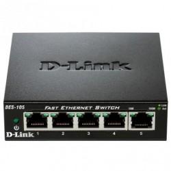 SWITCH D-LINK DES-105 5-PORTO / RJ-45 10/100