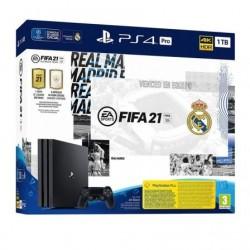 SONY PS4 EDIÇÃO DO CONSOLE PRO 1TB REAL MADRID + FIFA 21 JOGO