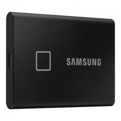 SAMSUNG SSD EXTERNO PORTÁTIL T7 RÍGIDO TOQUE DE 1 TB / USB 3.2