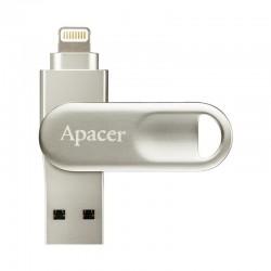 32GB PENDRIVE APACER AH790 GIRATÓRIA USB 3.1 / RELÂMPAGO