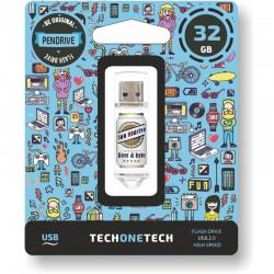 PENDRIVE 32GB UM CERVEJAS TECNOLOGIA TECH & BYTES SAN CERVEJA MIDRIVE USB 2.0