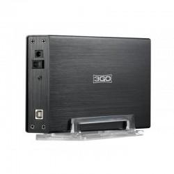 DISCO DISCO RÍGIDO EXTERNO BOX 3.5 '3GO HDD35BKIS / USB 2.0