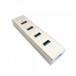 USB COM ALIMENTAÇÃO EXTERNA 3GO HUB34P2 / 4 USB 3.0 / BRANCO