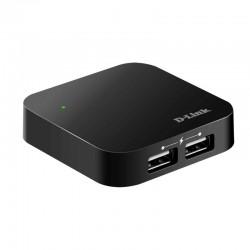 ALIMENTADO USB HUB D-LINK EXTERNO DUB-H4 4 PORTOS /