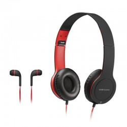PACOTE DE JOGOS MARS DE JOGOS MHCX / FONE IN-EAR FONE + OVER-EAR