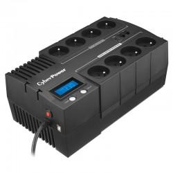 UPS INTERATIVO BR700ELCD CYBERPOWER ONLINE / 700VA-420W / 8 SAÍDAS FORMATO DE BLOCO /