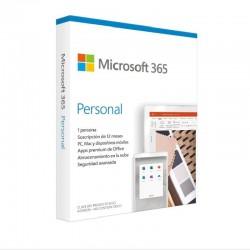 MICROSOFT OFFICE 365 PESSOAL / 1 USER / 1 ANO / MULTI-DISPOSITIVO