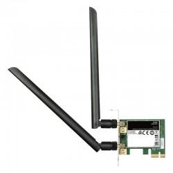 PLACA DE REDE WIRELESS PCI EXPRESS D-LINK DWA-582 AC1200 / 300 / 867MBS / 2,4 / 5GHZ