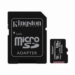 CARTÃO DE MEMÓRIA KINGSTON ALÉM DE 128GB LONA MICROSD XC SELECIONAR ADAPTER / CLASSE 10 / 100MBS