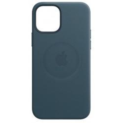 Apple iPhone 12 Mini Leather Case with MagSafe - Baltic Blue EU